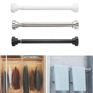 Tension Curtain Rod No Drilling Curtain Rod for Windows Shower Door Anti-Slip