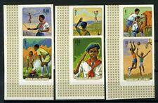 Guinea 1974 Mi. 706-711 B Nuovo ** 100% Non Scout dentellati