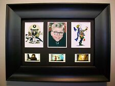 CHRISTMAS STORY Framed Trio Movie Film Cell Memorabilia - Compliments dvd poster