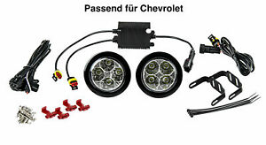 Chevrolet LED Daytime Running Lights Rund-Design 12V 8 X SMD Leds R87 Module