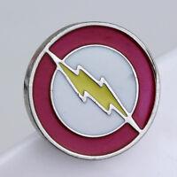 The Flash Logo Metal Pin DC comics brooch prop badge CW