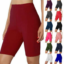 Women Cycling Shorts Leggings Slim Yoga Fitness High Waisted Sports Short Pants
