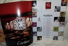 """CARTIER Watches Large Book Joie"""" ART MAGAZINE # 15"""" 2006 - 130 Pages"""