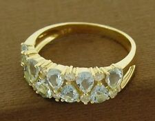 Aquamarine Yellow Gold Fine Jewellery