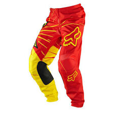 Fox Racing 180 Rockstar Pant Red / Yellow Sz. 30