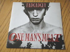 "FAD GADGET - ONE MAN'S MEAT   7"" VINYL PS"