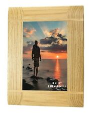 """4X6 """" Solid Wood Oak Wooden Picture Photo Frame 6x4 Mothers Day Mum Granny Gifts"""