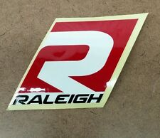 Raleigh bicycle sticker