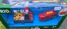 Toy Train Brio World Remote Control Engine 33213 New Boxed