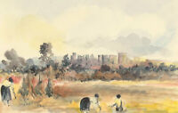 Audrey Pardoe - 20th Century Watercolour, Windsor Castle