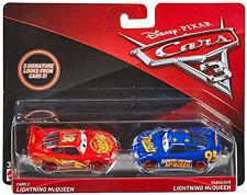 Disney Pixar Cars 3 Fabulous Lightning McQueen 2 Pack Imperfect Package