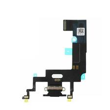 Connettore Ricarica per Apple iPhone XR Flat Flex Microfono Dock Carica USB Nero