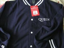 Queen oficial con licencia Crest Varsity Jacket Freddie Mercury Nuevo Con Etiqueta XL