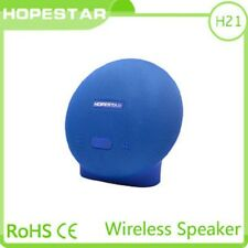 New High Quality Hopestar H21 Wireless BlueTooth Speakers in Blue Colour.
