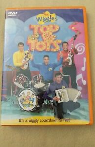 """Wiggles """"Top of the Tots"""" DVD Anthony Greg Jeff Murray"""