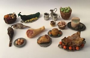 Dolls House Tudor Food Accessories
