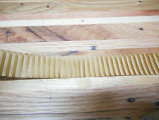 10 Meters - Accordion BELLOWS TAPE ANTIQUE GOLD WITH STRIPES Roll 24mm wide