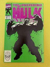 The Incredible Hulk #377 Nm 1st Print New Hulk by Dale Keown Jan 1991