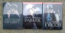 Fifty Shades of Grey, Darker, Freed 3-Movie Trilogy DVD Bundle Free Shipping!