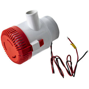 """3500GPH Boat Bilge Pump fit Marine Water Yacht Submersible 1-1/2""""  Outlet:"""