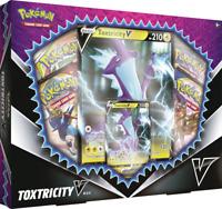 Pokémon TCG: Meowth & Toxtricity V Box Set of 2 (Factory Sealed)
