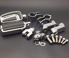 "AirFlow FootPegs 1"" Mounting Bracket For Honda GL1800 VT750 Shadow VT750C Chrome"