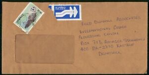 MayfairStamps Zimbabwe to Kastrup Denmark Air Mail Cover wwo8331