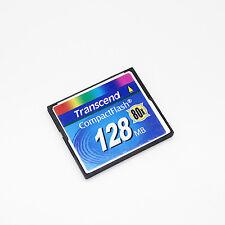 Transcend 128MB CF Card 80X, CompactFlash Card 128MB 80X.