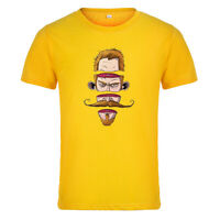 Creative Fashion T-shirt Men's Women's Short Sleeve Leisure Summer Cool Tops Tee