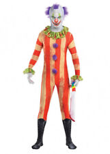 Kids or Teen Halloween Killer Clown 2nd Skin Costume