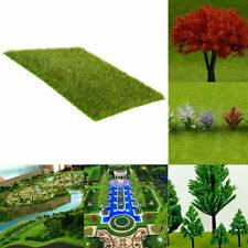 US Scale Lawn Grass Mats Square Landscape Foliage Model Diorama Scenery Layout