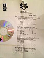 RADIO SHOW: HOUSE OF BLUES 8/20/05 GUEST ALBERT CUMMINGS w/6 SONGS; NICK MOSS