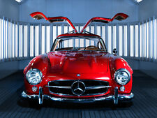 1 Mercedes Sport Race Car Vintage Rare Exotic 43 Concept 18 SL 24 CL 12 300