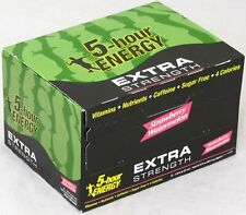 5 Hour Energy Strawberry Watermelon Extra Strength Shots Five Hr 12 Count