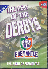 DVD - The Best Of  Derbys - Fremantle - BRAND NEW AFL DVD!
