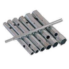 6PC TUBULAR BOX WRENCH SET 6MM TO 17MM TUBE SPANNERS DEEP METRIC SOCKET 20B