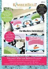 Kimberbell KD514 Whimsy Winter Bench Pillow ME CD