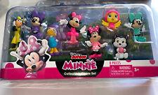 New Minnie Mouse Disney Junior Collectible Figure Set - 8 Pieces - 2020
