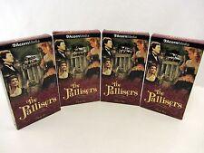 4 lot VHS - Set 1 of THE PALLISERS Volume 1 2 3 4  - British Drama