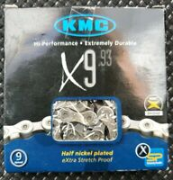 KMC X9.93 9-Speed Stretch-Proof Bike Chain Road MTB fit Campagnolo Shimano