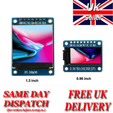 0.96 / 1.3 / 1.77 inch TFT SPI Full Colour LCD Display Module For Arduino