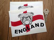 ENGLAND BULLDOG ST Georges Cross British Car stickers