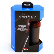 NEW MSR MINIWORKS EX COMPACT BACKPACKING EMERGENCY BUG OUT WATER PURIFIER FILTER