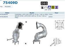 Pot catalytique Mitsubishi Carisma 1.9TD DID 1870cc 75Kw/102cv F9Q1 7/00>, antér