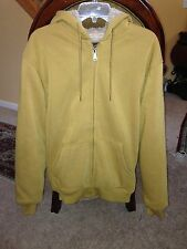 NWT Moutain Ridge Faux Sherpa Hooded Sweater Mens L