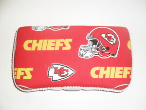 Red & Gold Kansas City Chiefs Baby Wipes Case