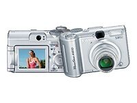 Canon PowerShot A610 5.0 MP Digital Camera AND Canon PowerShot A540 6.0 MP