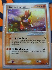 Pokémon Trading Card Game: Spanish Hitmonchan EX 98/109 (Ruby & Sapphire) NM/M