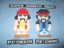 P1: CHEECH & P2: CHONG Super Barrio Bros. (MED) T-Shirt