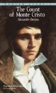 The Count of Monte Cristo (Bantam Classics) - Paperback - GOOD
